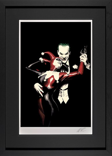 Tango With Evil by DC - Framed Limited Edition on Paper